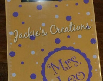 Teacher Personalized Clipboard