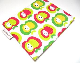 Reusable Snack Bag, Mod Apple Snack Bag, Eco Friendly Snack Bag, Teacher Apple Gift, Back To School
