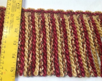 """INSTOCK....Gorgeous Chenille 5.5"""" Thick Waverly Bullion Trim..........NEW........Priced Below Wholesale"""