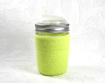 Jar Cozy - 1/2 pint size - cuff - highlighter