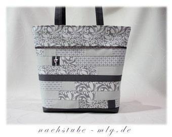 Classy, stylish bright patchwork bag