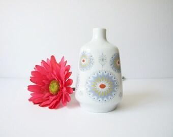 Spanish Santa Clara vintage vase // Moisés Alvarez pottery modern vase
