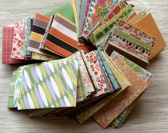 Gift Card Envelopes - pack of 20 - Coin envelopes assortment mix of colors and patterns