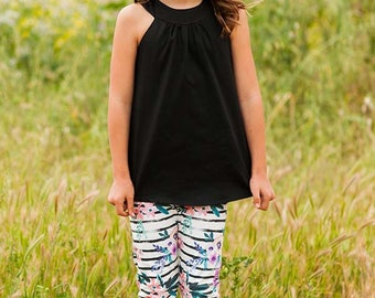INSTANT DOWNLOAD- Super Simple Leggings (Sizes 9/12 months to 12) PDF Sewing Pattern and Tutorial