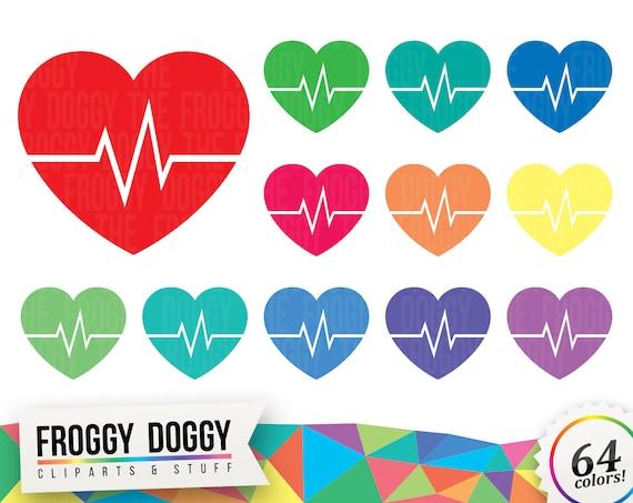 Ekg Clipart Heart Clipart Medical Clipart Doctor Symbol Clipart