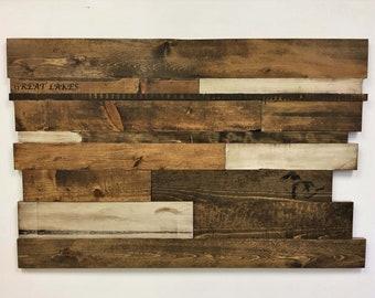 Distressed Wood Art Wall Art
