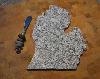 Michigan Granite Cheeseboard - Cheese board tray