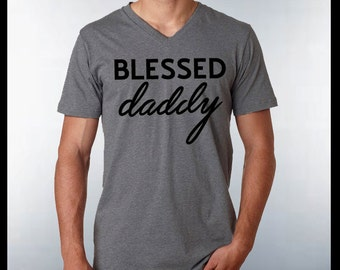 Blessed Daddy Shirt Blessed T-shirt Husband and Wife