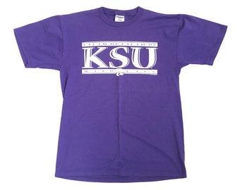 Vintage Kansas State T-Shirt- KSU T-shirt Kansas State University Shirt Vintage