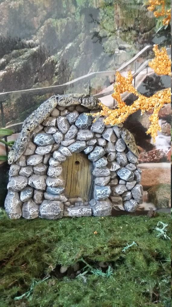 fairy garden castle. Fairy Garden Miniature Door For Your Garden, Door, Castle Stone Enchanted Forest, Wholesale Price Avail From