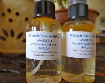Frankincense & Myrrh Room and Body Spray 2oz