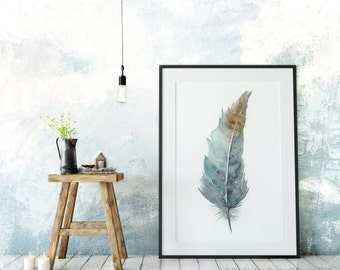 Zen Feather No. 1 - archival print