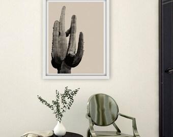 Saguaro Cactus Print / Home Art /Home Decor / Cactus Printable / Cactus Wall Art / Digital Instant Download / Cactus Gift / Cactus Art Print