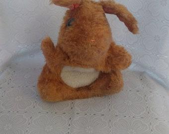 Vintage Fisher Price #163 Hand Puppet Hoppy Hoppie Bunny Rabbit plush 1981 (2)