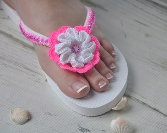 WEDDING Flip Flops!Bridal Flip Flops.Bridal Shoes.Beach Wedding Sandals.Bridal Sandals.Wedding Shoes.Destination Wedding. Pink Sandals