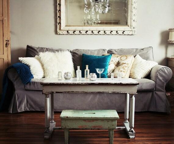 Marvelous Custom IKEA Ektorp Sofa Slipcover 3 Seater In Rouge Ash