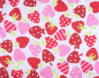 "PRECUT FAT QUARTER 30""X36"" Strawberry Silky Satin by Shannon Fabrics"