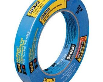 Blue Painter's Tape -Masking Tape- Artist Tape- TAPE_MT03681-1