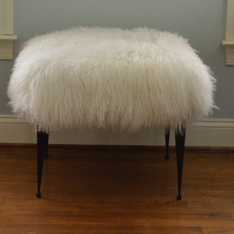 white base furniture geometric images bench on gold best pinterest enhancing sheepskin home decor