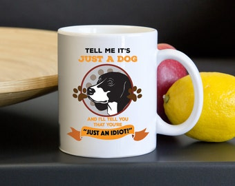 Beagle Mug. This is an Awesome Unique Coffee Mug and is printed on both sides. Beagle Lovers Know that a Beagle is not just a dog.