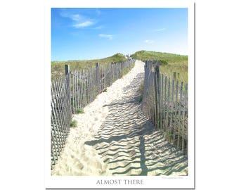 Nauset beach photo/nauset beach print/cape cod photo/beach photography/ocean wall art/beach photo/summer beach print/beach pathway photo
