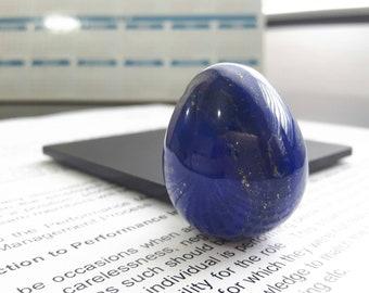 Royal Blue Lapis Lazuli Miniature Egg - 31×25mm