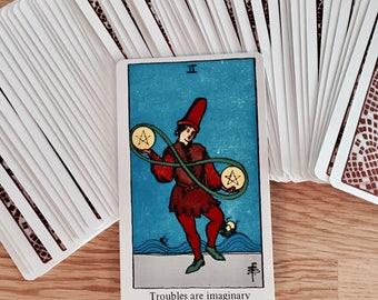 Seven Card Horseshoe Reading