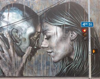 Fine Art Photography Print - I See You - Wall Decor, Home Decor, Urban Decor, Large Wall Art, Urban Photography, Street Photography