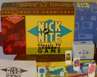 Nick at Nite Classic TV Trivia Game (1996)