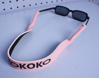 PINK Custom Kokorokoko Neoprene Eyewear Croakies