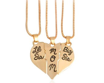 Sisters/Mom Necklace