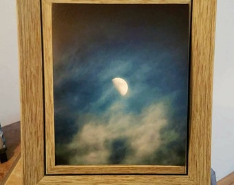 Matte Moon Print (Unframed) 8x10 (shown) 5x7 and 4x6 available