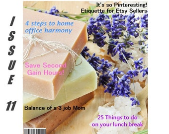 Handmadeology Magazine - Issue 11 - Marketing Plan - Pinterest