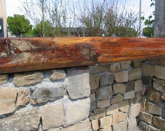MANTLE: Fireplace Mantle Beam Reclaimed