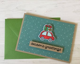 Lawn Fawn Seasons Greetings Holiday Card