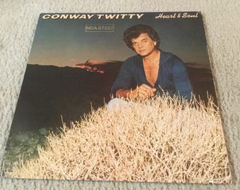 Conway Twitty Heart and soul Vinyl Record Lp album country