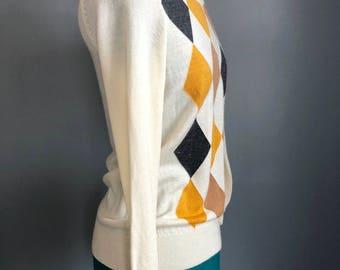HarkCollections Vintage Bossini Ladies Graphic Sweater