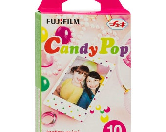Fujifilm Instax mini film (Candy pop Frame) 10 sheets