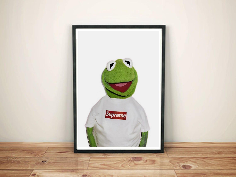 Supreme Kermit Poster