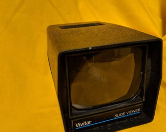 Vintage Vivitar Slide Viewer, Original Box and Instructions