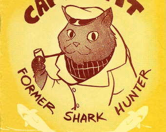 Cap'n Cat: Former Shark Hunter Mini-Comic