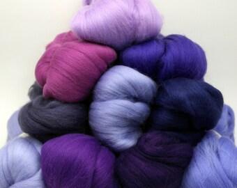 Merino Wool Color Pack - Purple