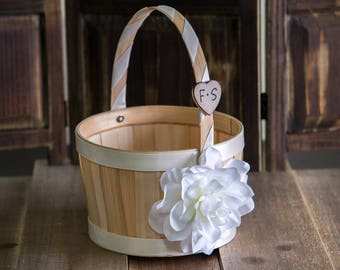 Small Flower Girl Basket Other color selections available