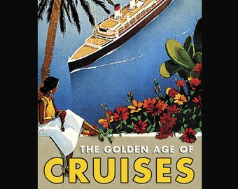 The Golden Age of Cruises collectable playing cards
