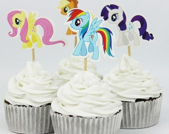 My Pony Cupcake Toppers package of 24