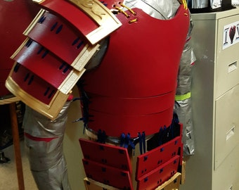 Samurai Armor Cosplay Costume Set