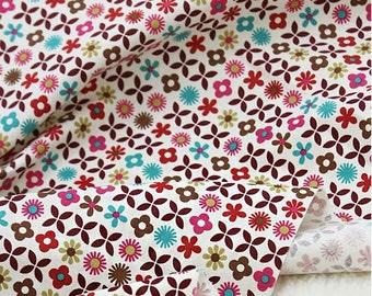 Scandinavian Nordic Swedish Vintage Fabric Cotton 100% - Baby Blossom