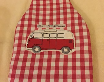 Campervan Hot Water Bottle Cover, hot water bottle cover, hottie cover, hot water bottle cosy, campervan gifts,