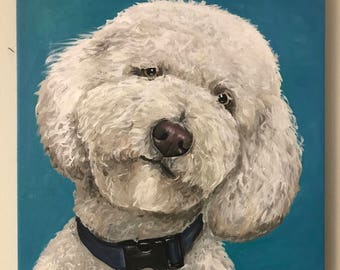 Custom dog painting canvas, custom pet painting, custom dog painting, custom pet paintings, custom pet portrait, dog painting custom