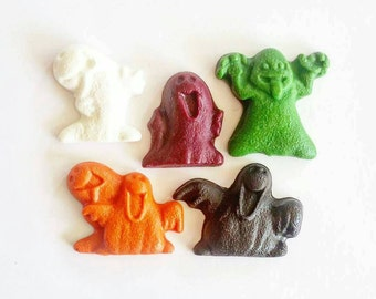 Ghost, Halloween Crayons, Ghost Crayons, Candy Alternative, Halloween Party, Party Favors, Holiday Crayons, Halloween Gift, Happy Halloween